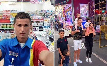Fotografias de Cristiano Ronaldo geram uma batalha de Photoshop épica