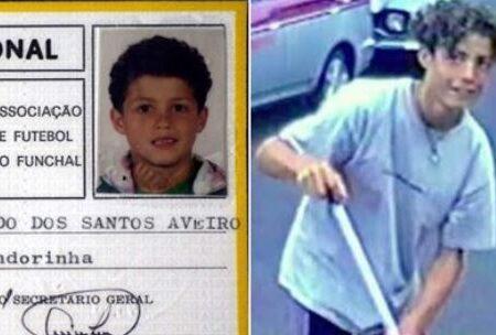 Fotografias antigas de Cristiano Ronaldo dão que falar nas redes sociais