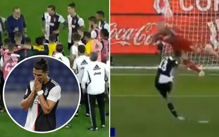 """Cristiano Ronaldo apelidado de """"futebolista mais egoísta de sempre"""" depois de confusão com uma grande penalidade ter custado um título à Juventus"""