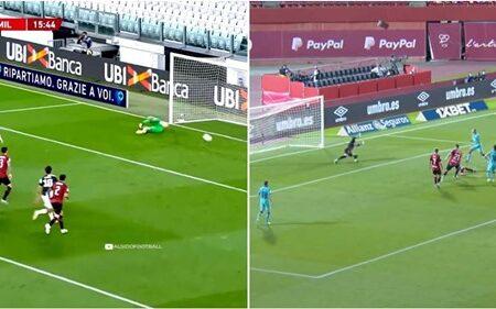 Vídeo mostra as diferenças absurdas entre Cristiano Ronaldo e Leo Messi no regresso de ambos aos relvados