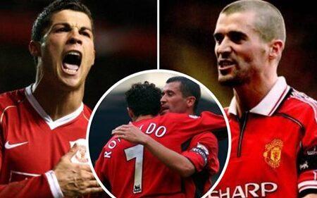 Foi assim Roy Keane ajudou Cristiano Ronaldo a transformar-se num jogador de classe mundial no Manchester United