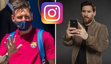Estes são os únicos quatro clubes que Messi segue no Instagram