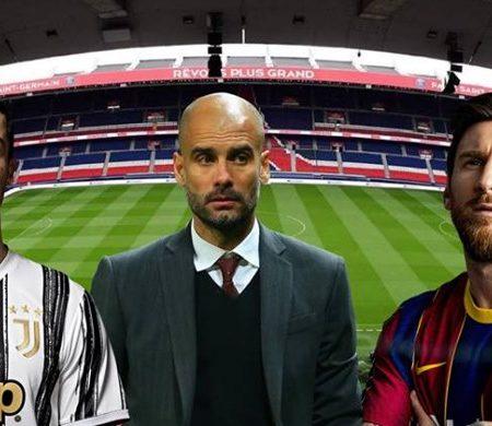 Lionel Messi, Cristiano Ronaldo e Pep Guardiola vão unir  forças no PSG em 2021?