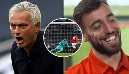 Bruno Fernandes finalmente respondeu a José Mourinho sobre a boca que mandou sobre as grandes penalidades