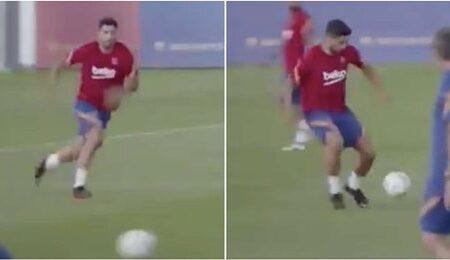 Vídeo de Luis Suarez a treinar pelo Barcelona é triste de ver