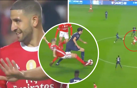 Vídeo mostra a incrível transformação de Adel Taarabt a jogar pelo Benfica