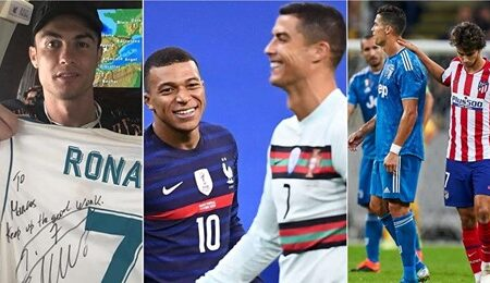 Algumas das estrelas do futebol que idolatram Cristiano Ronaldo