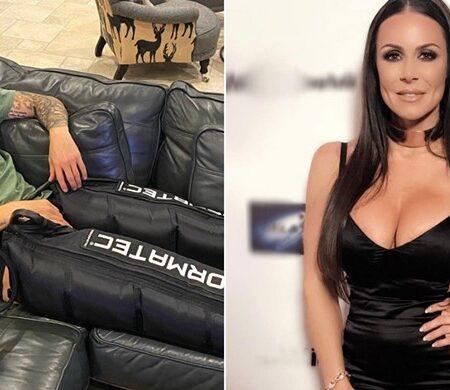 Pornstar Kendra Lust envia mensagem a James Rodriguez enquanto o jogador recupera de uma lesão no testículo