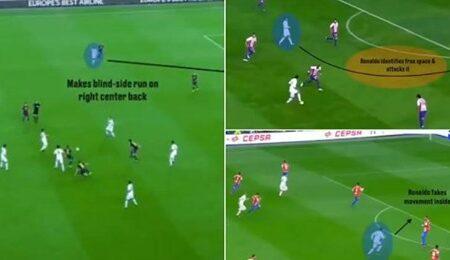 Vídeo prova que o movimento sem bola de Cristiano Ronaldo é o melhor do mundo