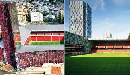 O Estádio Nacional da Albânia é qualquer coisa de especial