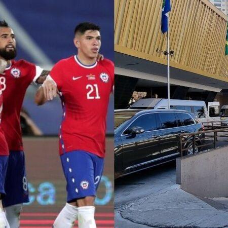 6 jogadores Chilenos apanhados em festa sexual