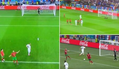 O momento em que Pepe perde a cabeça com Rui Patrício no jogo contra a França