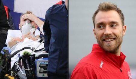 Christian Eriksen falou pela primeira vez depois da paragem cardíaca que sofreu em campo