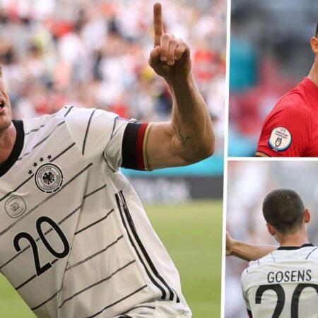 Robin Gosens VINGA-SE de Cristiano Ronaldo