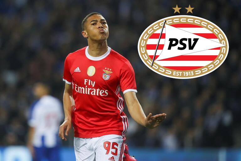 Carlos Vinícius a caminho do PSV