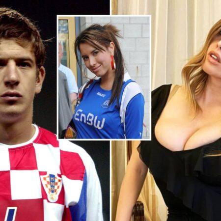 Defesa croata listado para transferência depois de ter feito s*xo no relvado com modelo da Playboy