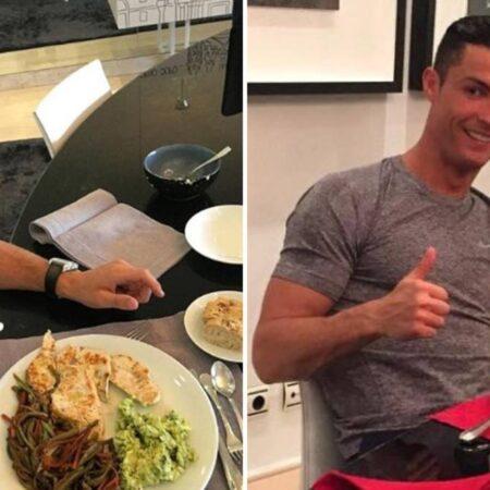 As refeições favoritas de Cristiano Ronaldo estão agora no menu do Manchester United e os seus colegas de equipa não ficaram convencidos