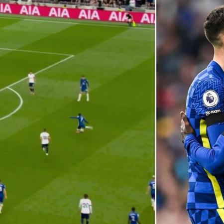 N'Golo Kanté a não saber como celebrar depois de ter marcado ao Tottenham foi um momento bonito