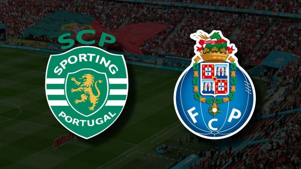 Sporting e Porto empatam a uma bola