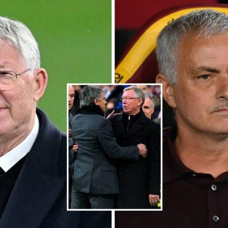 """""""José Mourinho vai ficar na história como melhor treinador que o Sir Alex Ferguson"""""""