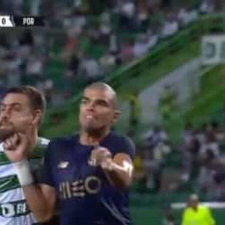 Sporting envia para a Comissão de Instrutores da Liga queixa contra Pepe