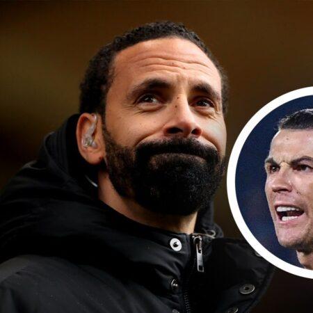 Cristiano Ronaldo envia mensagem a Rio Ferdinand depois de debate televisivo sobre Erling Haaland e Kylian Mbappé