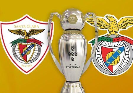 Benfica aplica goleada ao Santa Clara