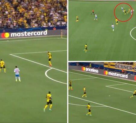 Bruno Fernandes fez uma assistência incrível para o golo de Cristiano Ronaldo: eles partilham uma ligação telepática
