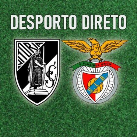 Benfica vence Vitória de Guimarães por três bolas a uma