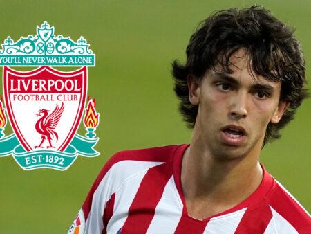 João Félix na mira do Liverpool